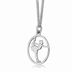 My-Beads Sterling Silver pendant 444