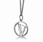 My-Beads Sterling Silver Pendant 445
